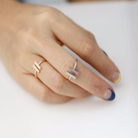 The Double Bar Ring