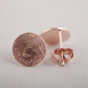 The Round Bohemian Stud Earrings