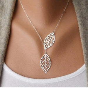 The Fallen Leaf Necklace