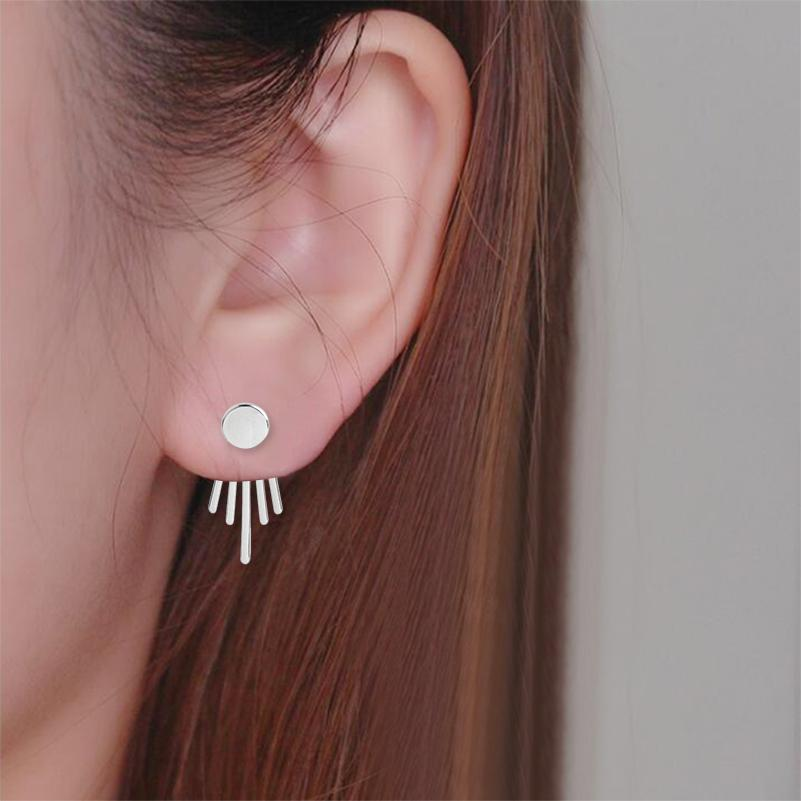 The Geometric Hanging Earrings