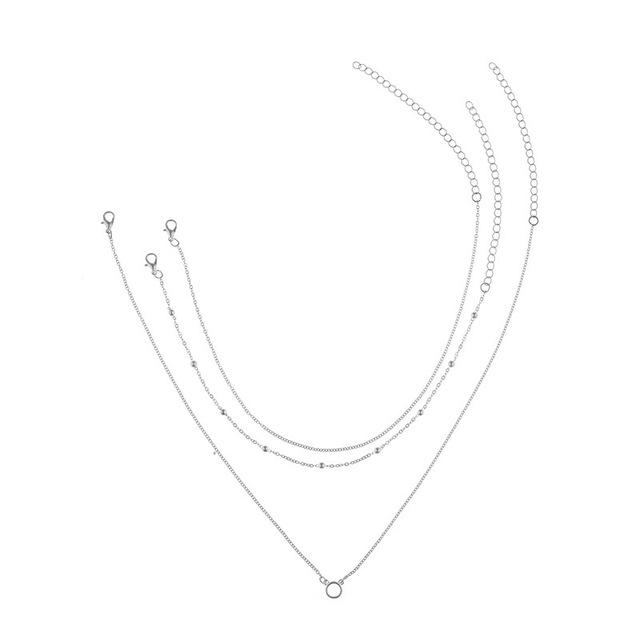 The Infinity Loop Triple Layered Choker