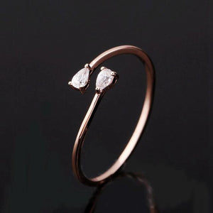 The Dainty Crystal Ring