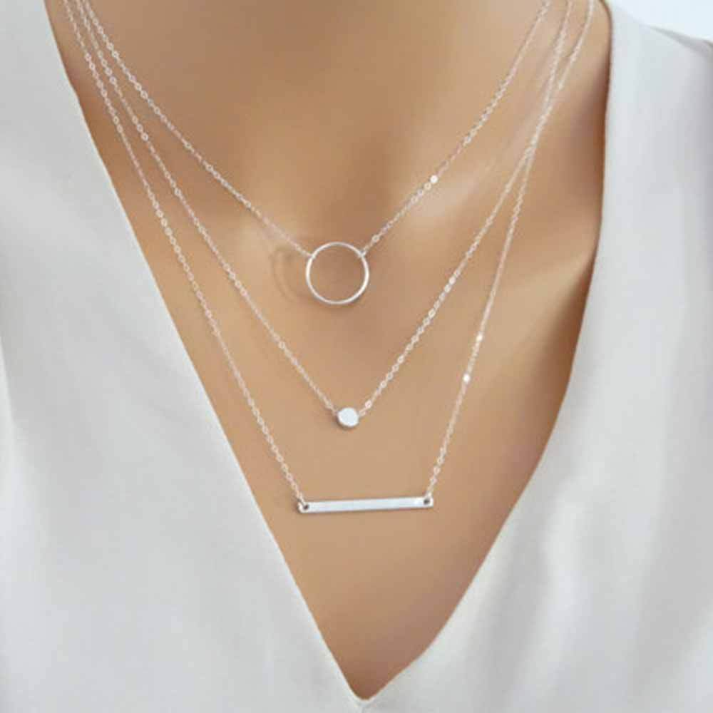 The Layered Shape Necklace