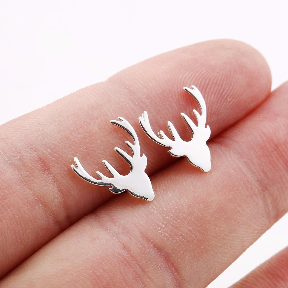 The Elegant Deer Stud Earrings