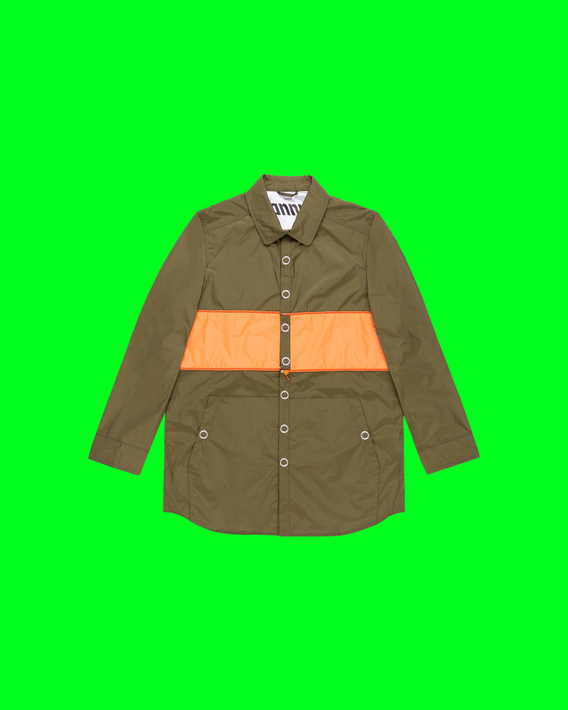 EXPANDABLE WORK SHIRT IN CACTUS (SOLD OUT)