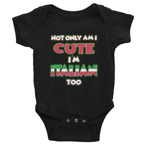 Not Only Cute Bodysuit - Hardcore Italians