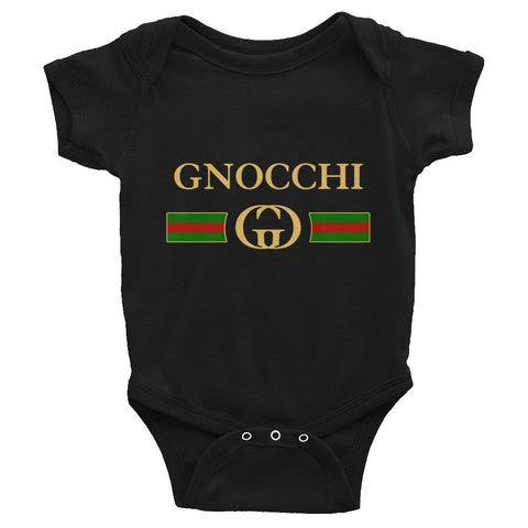 Gnocchi Bodysuit - Black - Hardcore Italians