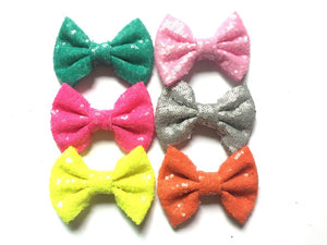"4"" Sequin Bows"
