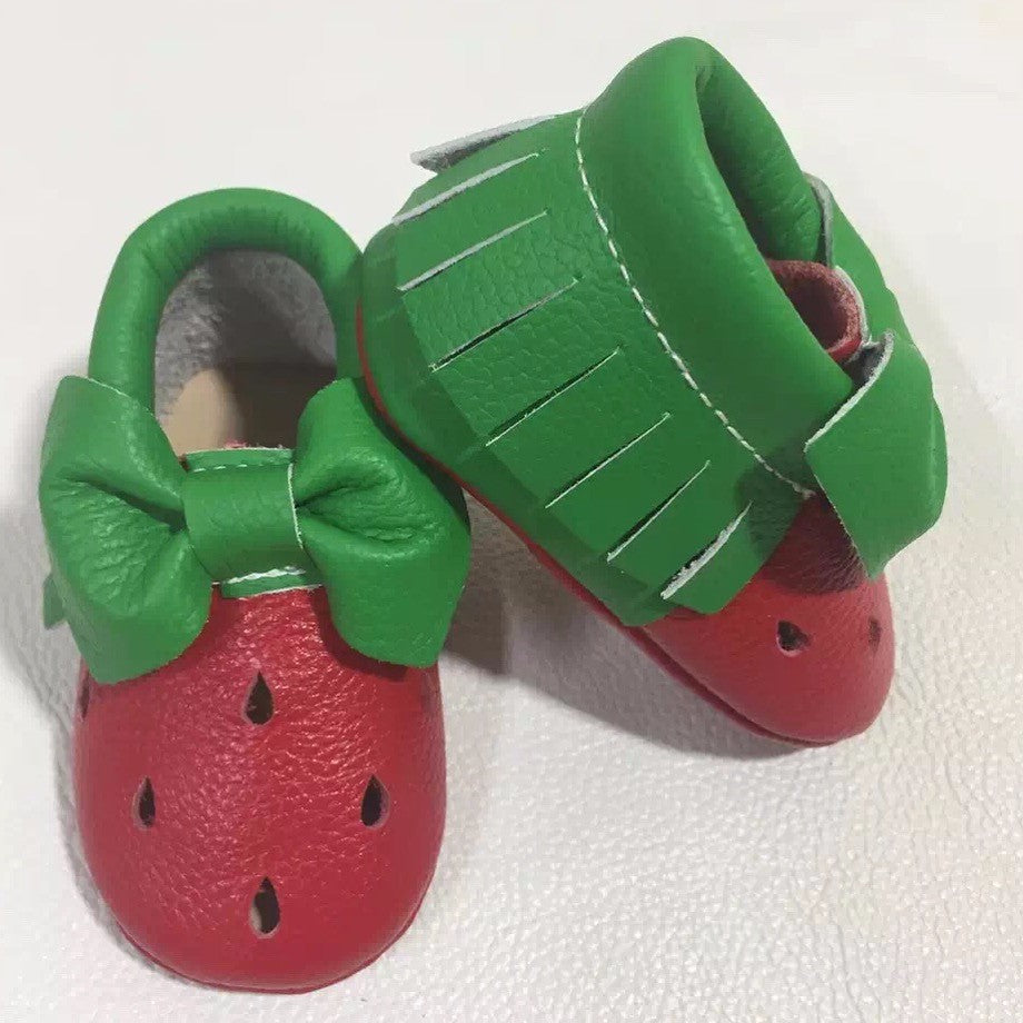 Watermelon Moccs 18-24M