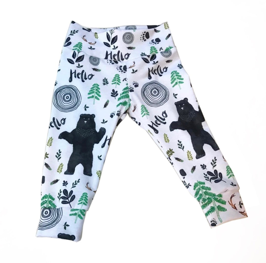 Woodland Forest Leggings