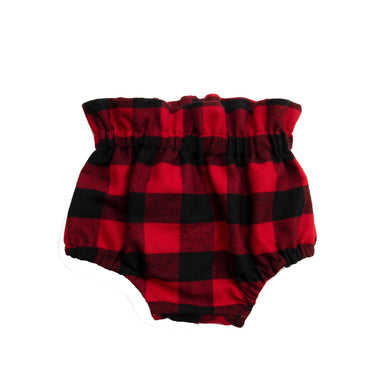 Buffalo Plaid High Waisted