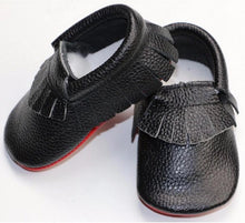 Red Bottom Moccs 12-18M