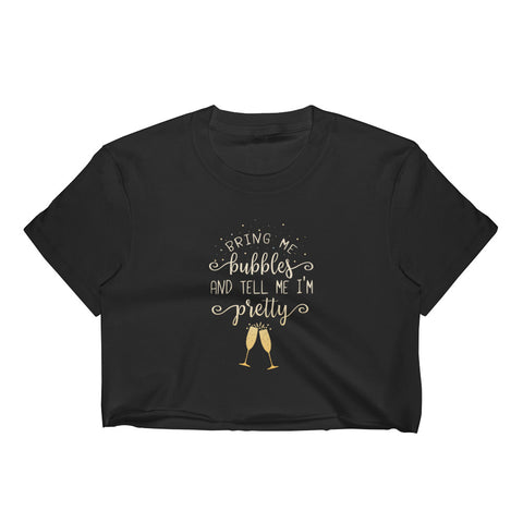 Bring Me Bubbles Women's Crop Top - Shop Cait Straight Up