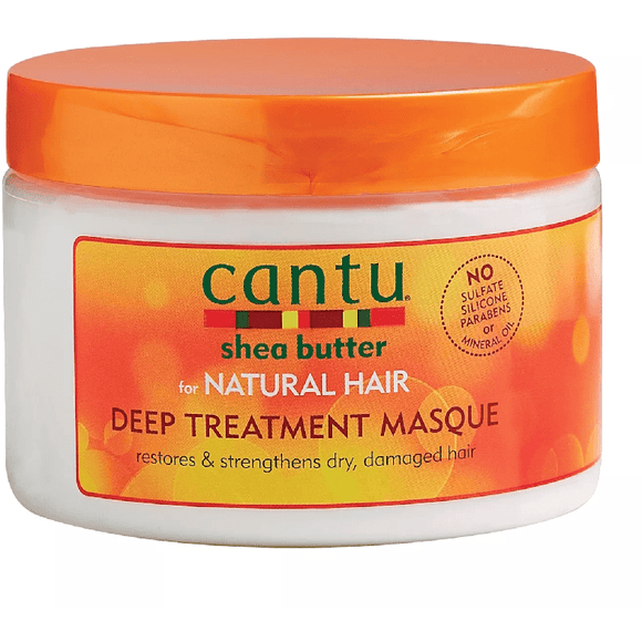 Cantu Shea Butter For Natural Hair Deep Treatment Masque - 12oz - Barber World