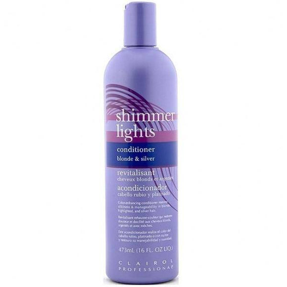 Clairol Shimmer Lights Conditioner Blonde and Silver - 16oz