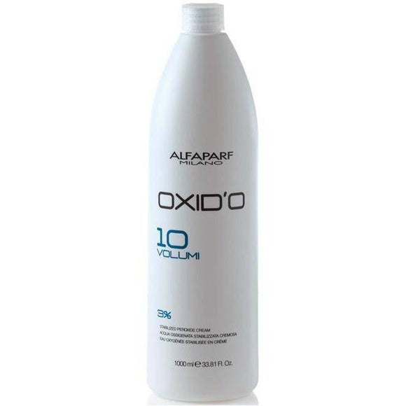 Alfaparf Oxid'O Stabilized Peroxide Cream Vol 10 - 33.81oz - Barber World