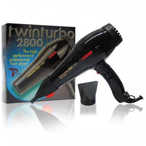 Turbo Power Twin Turbo 2800 Cold Matic Blow Dryer (Black)
