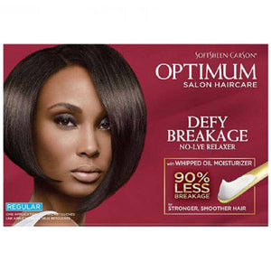 Optimum Care Salon Collection Defy Breakage No Lye Relaxer Regular - 1 Application