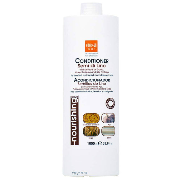 Ever Ego Nourishing Semi Di Lino Shampoo - 33.8oz