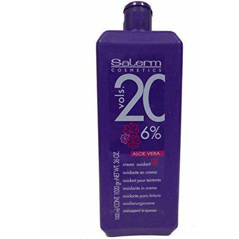 Salerm Cream Oxidant with Aloe Vera Vol 20 - 36oz - Barber World