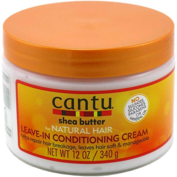 Cantu Shea Butter For Natural Hair Leave-in Conditioning Cream - 12oz