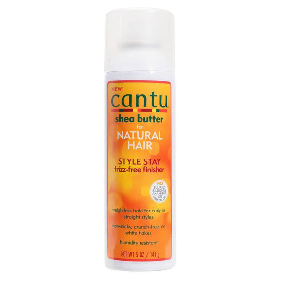 Cantu Shea Butter For Natural Hair Style Stay Frizz-Free Finisher - 5oz