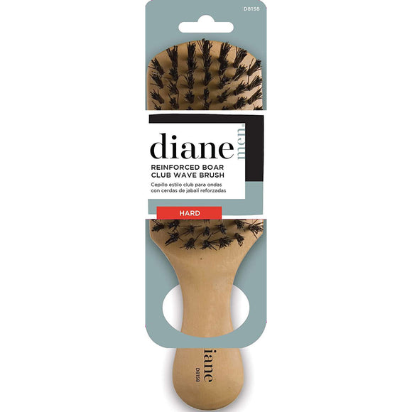Diane Reinforced Boar Club Brush - Extra Firm #D8158 - Barber World