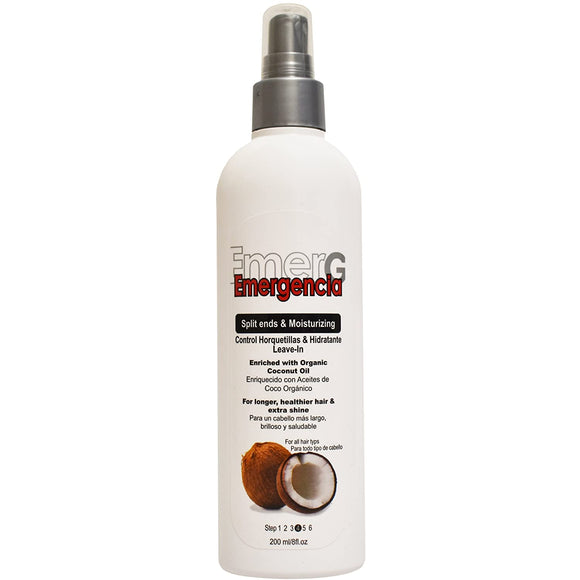 Emergencia Split Ends & Moisturizing Leave In - 8oz