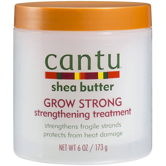 Cantu Shea Butter Grow Strong Strengthening Treatment - 6oz - Barber World