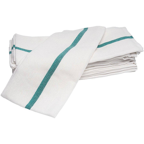 Diane DET005 Barber Towel - 12-Pack White