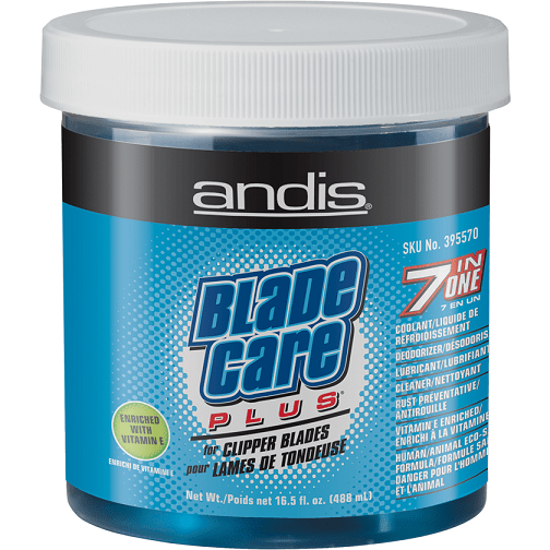 Andis Blade Care Plus Jar For Clipper Blades 16.5oz - Barber World