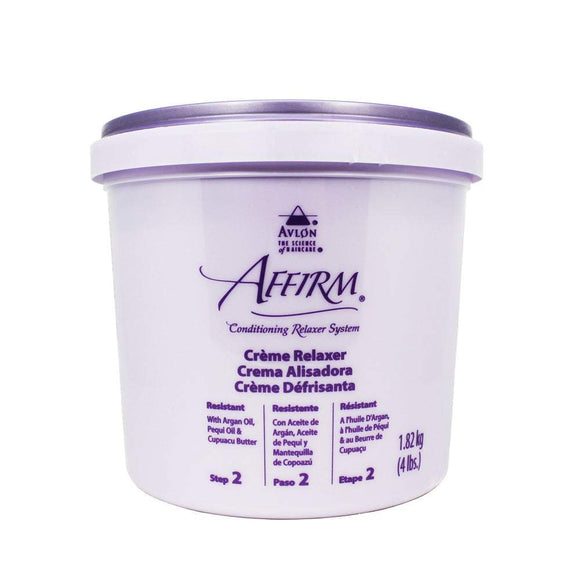 Avlon Affirm Conditioning Creme Relaxer - Resistant 4Lbs