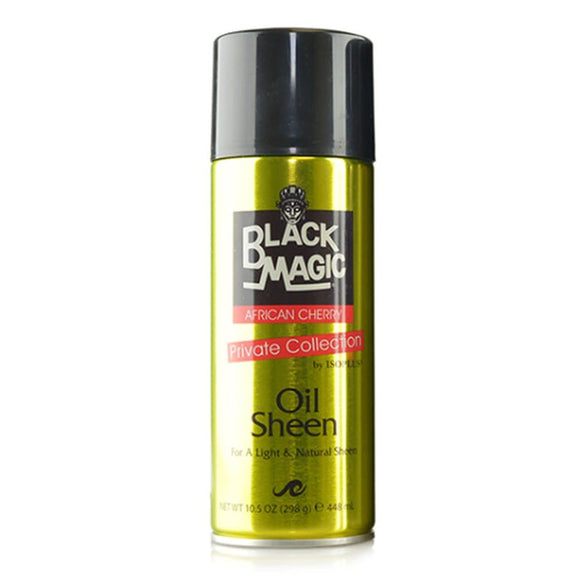 Black Magic African Cherry Oil Sheen Spray - 10.5oz - Barber World
