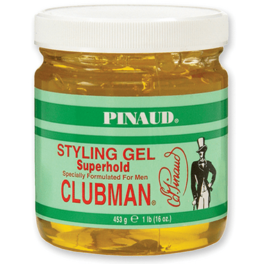 Clubman Pinaud Styling Gel Super Hold - 16oz