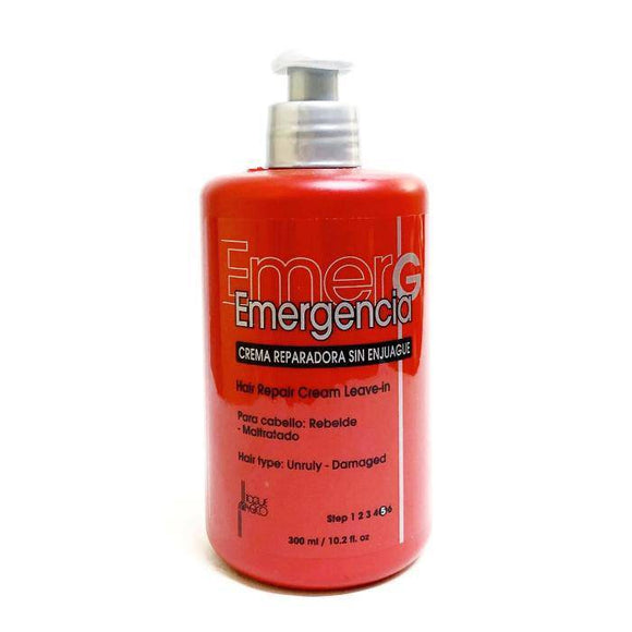 Emergencia Hair Repair Cream Leave-In - 10.2oz - Barber World