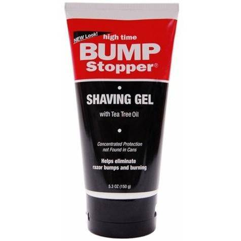 High Time Bump Stopper Medicated Shaving Gel 5.3oz