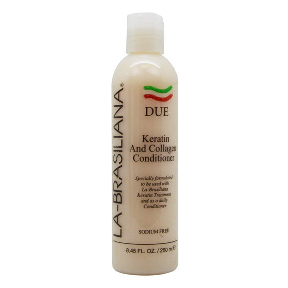 La-Brasiliana DUE Keratin and Collagen Conditioner - 8.45oz