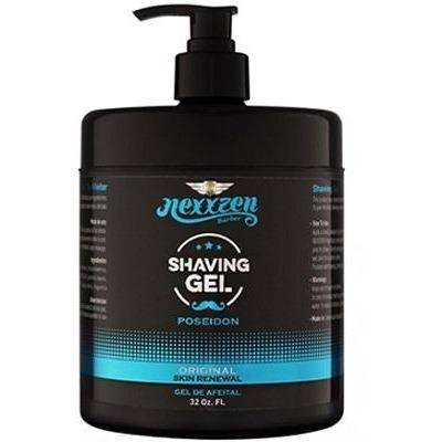 Nexxzen Shaving Gel Poseidon - Original 32oz - Barber World