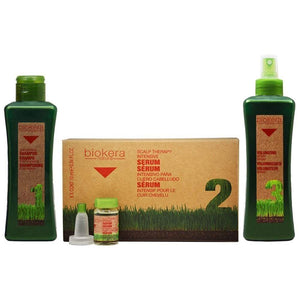 Salerm Biokera Natura 3-Step Set - Barber World