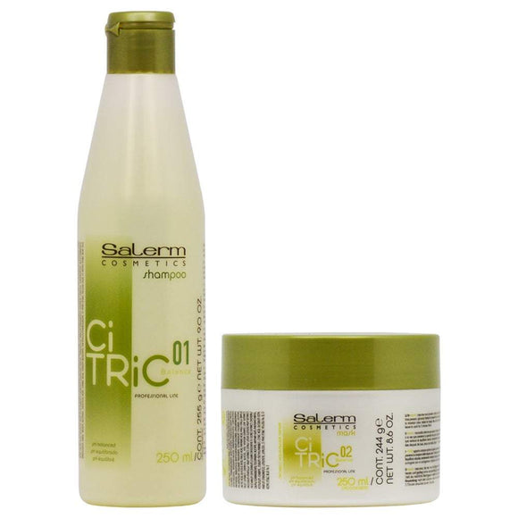 Salerm CiTric Balance Shampoo & Mask Duo Set - Barber World