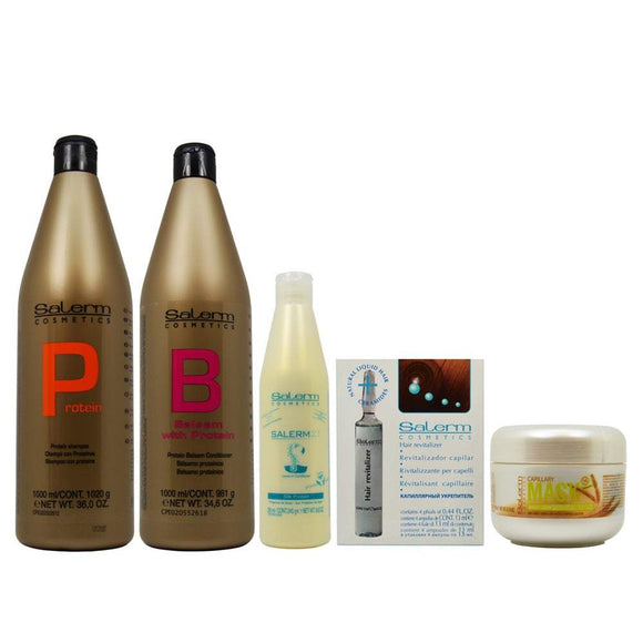 Salerm 5-piece Revitalizing Set