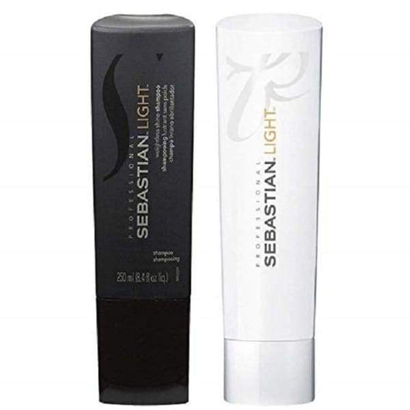 Sebastian Light Shampoo & Conditioner - 8.4oz