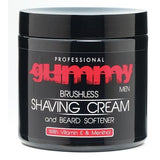 Gummy Brushless Shaving Cream with Vitamin E and Menthol