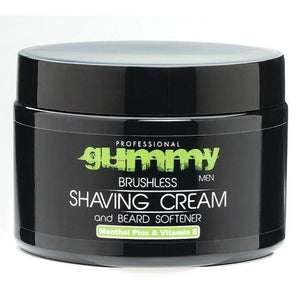 Gummy Brushless Shaving Cream with Vitamin E and Menthol Plus - Barber World