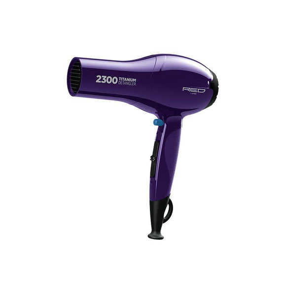 Red by Kiss 2300 Titanium Detangler Blow Dryer