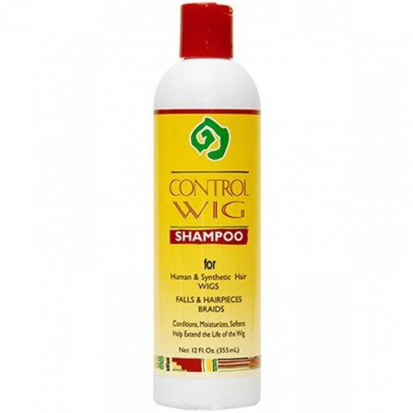 African Essence Control Wig Shampoo - 12oz - Barber World