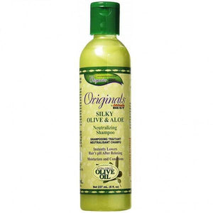 Africa's Best Originals Silky Olive & Aloe Neutralizing Shampoo - 8oz