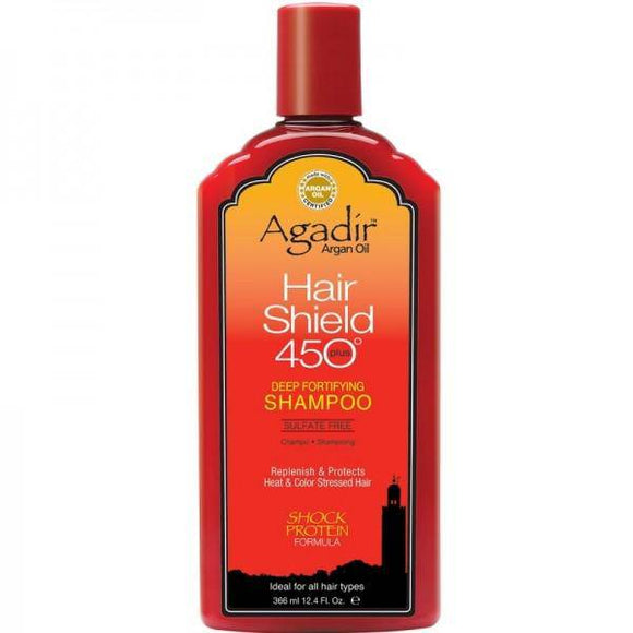 Agadir Argan Oil Hair Shield 450 Plus Deep Fortifying Shampoo - 12.4oz