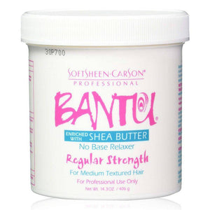 SoftSheen Carson Bantu Shea Butter No Base Relaxer Regular - 14.3oz - Barber World