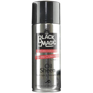 Black Magic African Coconut Oil Sheen Spray - 10.5oz - Barber World